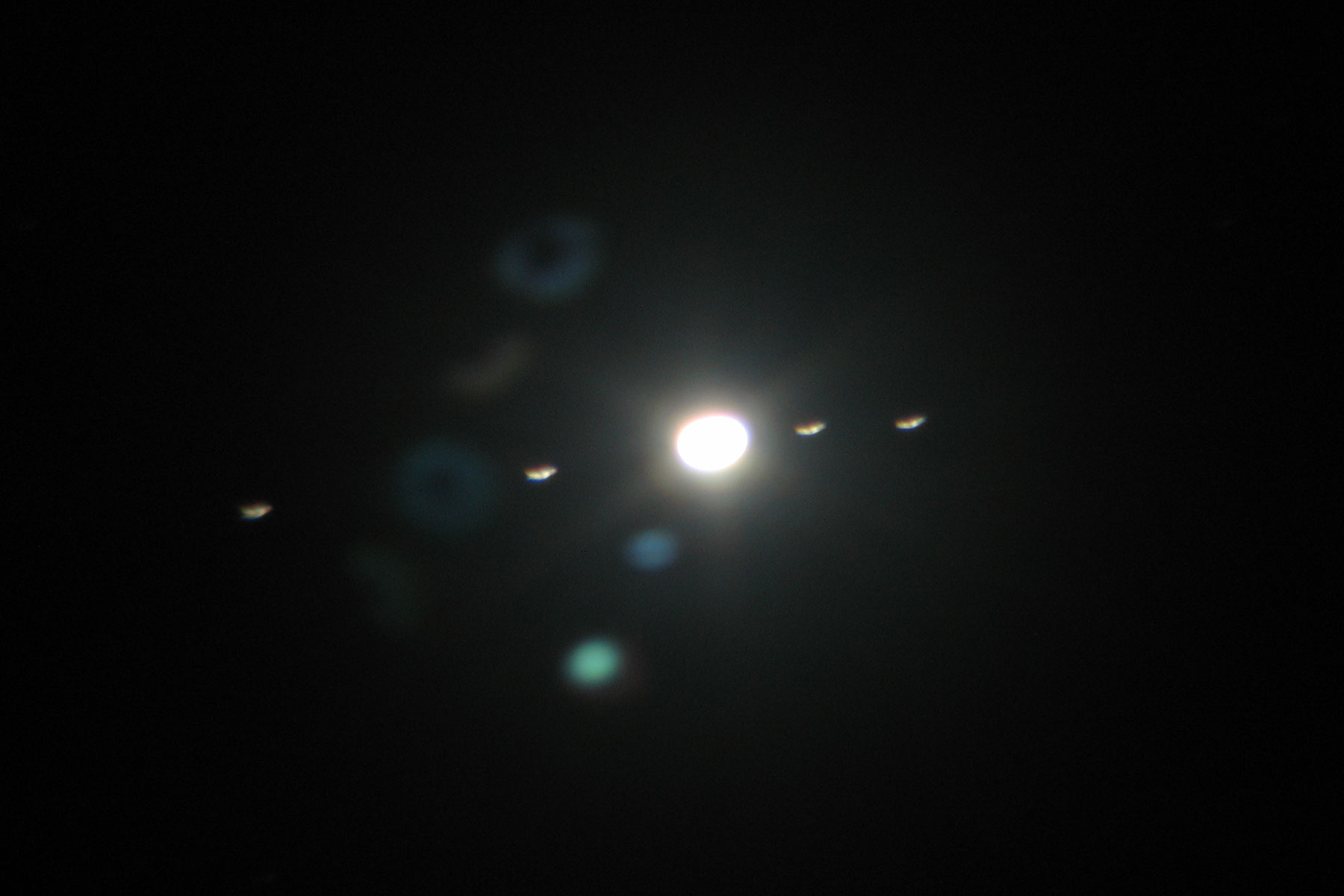 jupiter and moons through telescope - photo #8
