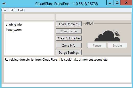 CloudFlare FrontEnd